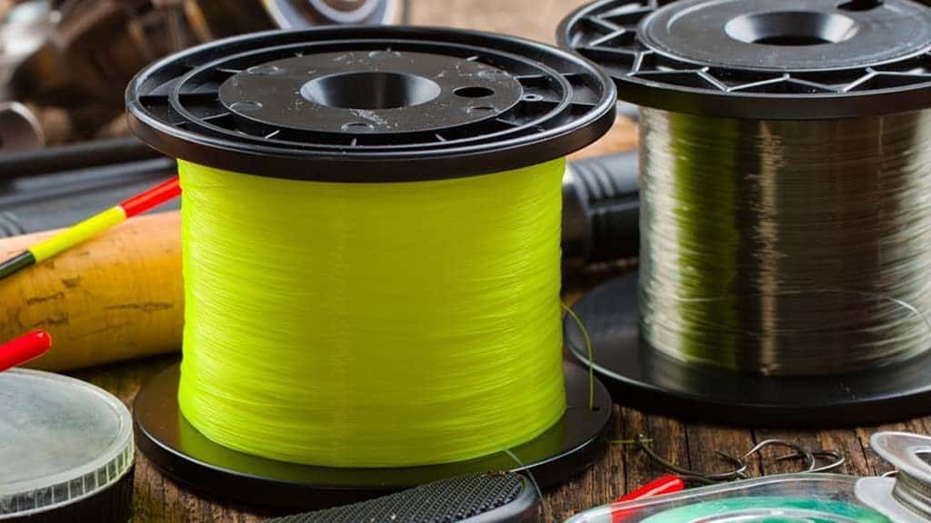 Fluorocarbon Fishing Line, one of various types of fishing line, use fluorocarbon line knot to join